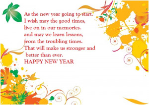 People share the New Year 2014 wishes as Greeting Cards and online e ...