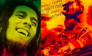 Marcus Garvey, Bob Marley