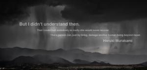 Haruki Murakami motivational inspirational love life quotes sayings ...