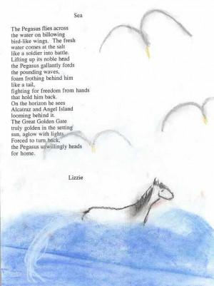Student's Poem About Pegasus