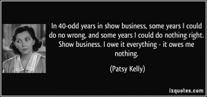 More Patsy Kelly Quotes