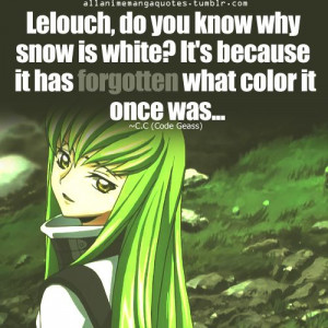 C2 quote-Code Geass: Anime Quotes, Quote Codes, Animal Quotes, Geass ...
