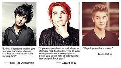 justin bieber music quotes gerard way Band my chemical romance Idiot ...