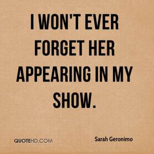 Sarah Geronimo Quotes
