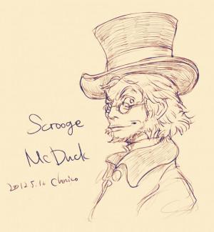 ... gijinka huey Dewey daisy duck louie Scrooge McDuck personification