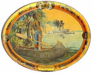 1903 Lewis and Clark Centennial Commemorative Tray