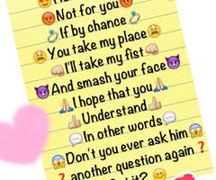 relationship quotes with emojis instagram quotesgram