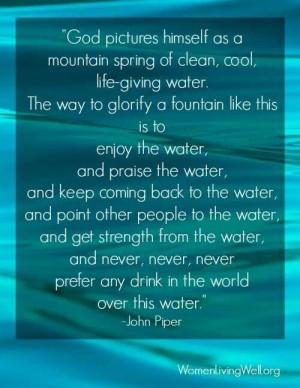John Piper,. The water -