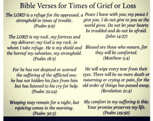 ... Bible Vers For Grief, Bible Verses, Bible Vers For Loss, Bible Vers