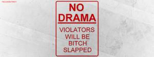 No Drama Quote Picture