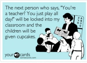 Funny Preschool Teacher Quotes Preschool teachers rock!