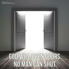 the doors doors open amen spiritualreligi quotes god open open doors ...