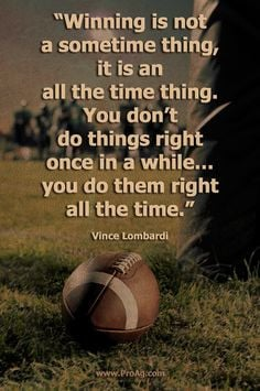 Lombardy Quotes, Last Football Game Quotes