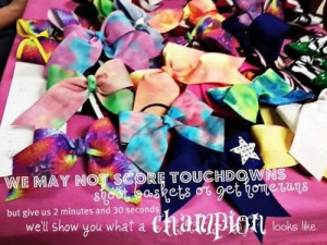 Quotes about cheerleading being a sport