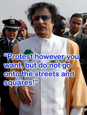 Funny Gaddafi quotes07 Funny Gaddafi quotes