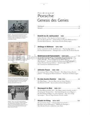 account of the life and accomplishments of ferdinand porsche Ferdinand porsche founded his engineering office in 1931 working until his death in 1951, the exceptionally creative technician, formerly a designer of electric cars.