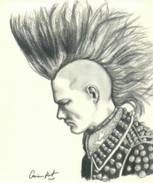 Slc Punk Stevo Mohawk Stevo by fenn-shysha