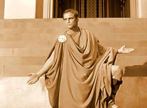Marc Antony Addresses Roman Citizenry on the Death of Julius Caesar
