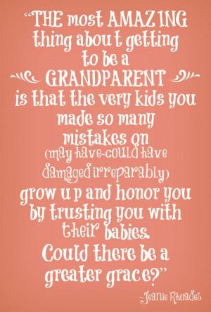 being a grandparent jeanie rhoades quote