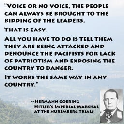 Hermann Goering Quote Game
