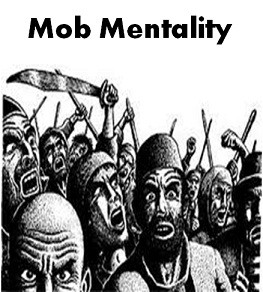 mob mentality lord flies The mob mentality in lord of the flies develops because the boys lose their  own values and principles to follow the louder and more persuasive jack when .