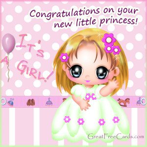 Congratulation Messages For New Born Baby Girl