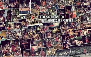 Michael Jordan Hero - NBA Wallpaper