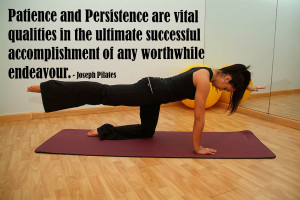 Patience and persistence are vital qualities in the ultimate ...