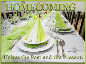 Homecoming Quotes Graphics, Pictures