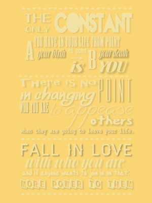 Tyler Oakley Quotes Typography Quote Meme Toakley Look Made