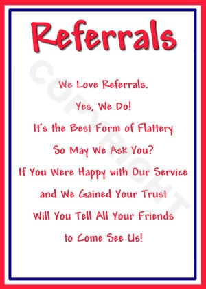 Here are a Few of These Proprietary Referral Cards that Are Available ...