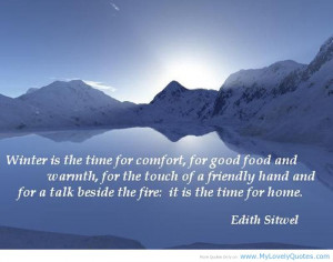 30 Frosty And Chilly Winter Quotes