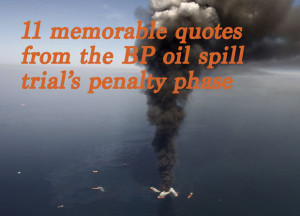 Oil Spill Quotes