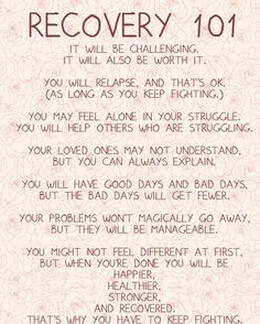 Addiction Recovery Quotes and Sayings | Recovery 101 | Quotes Sayings ...