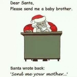 Dear Santa,.....
