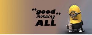Funny Good Morning Wallpaper Wallpaper