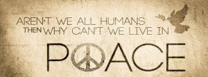 Peace Quote Facebook Timeline Cover Picture
