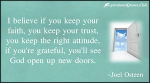 Attitude If You Re Grateful Ll See God Open Up New Doors
