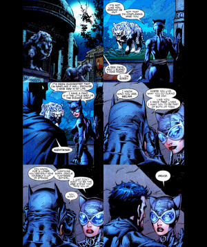 Batman And Catwoman Kissing