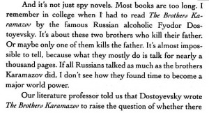Brothers Karamazov - Dave Barry
