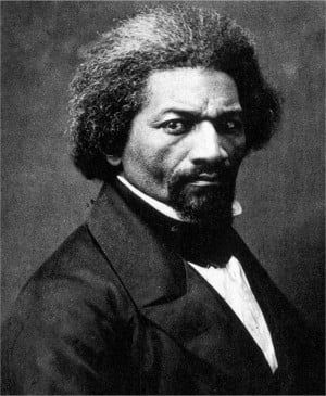 Frederick Douglas in his middle-age years: Above.