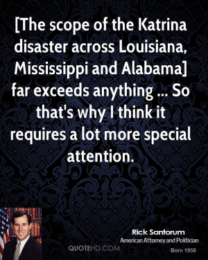The scope of the Katrina disaster across Louisiana, Mississippi and ...