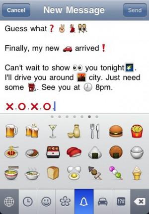 Cute Emoji Love Quotes