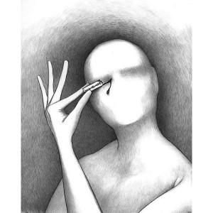 Mind-Bending Sketches Alex Andreyev Draws Disturbing Nightmares ...