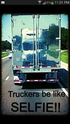 ... die ik truck drive trucker selfi leuk vind dingen die trucker thing
