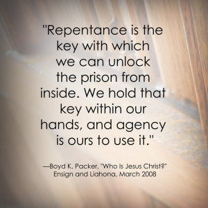 Repentance LDS General Conference Quote http://sprinklesonmyicecream ...