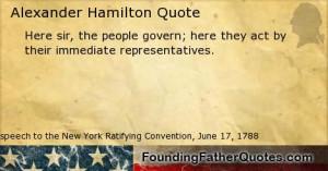 Quotes by Alexander Hamilton