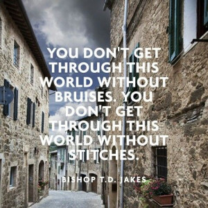 Bishop T. D. Jakes quote.