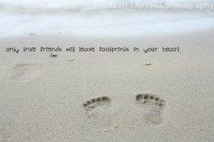 quote about footprints
