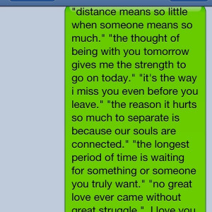 Awww, Distance Relationship Quotes, Military Relationships Quotes ...